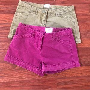 Zinc Shorts Juniors Size 7